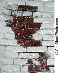 Brick White Wall 3