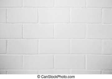 brick white wall background