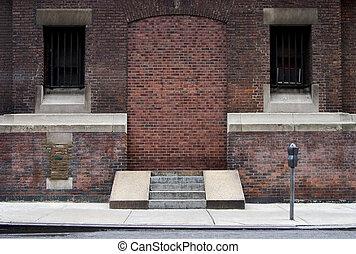 Bricked-up Doorway