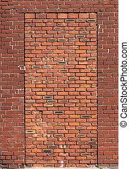 Bricked Up Doorway