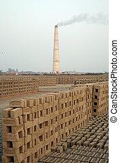 brickfield, sarberia, india