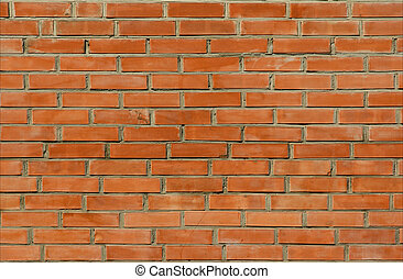 Bricks 9 - Orange brick wall texture background