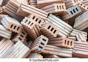 Bricks for construction