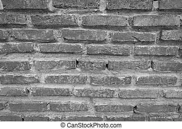 bricks on the old wall , texture Background