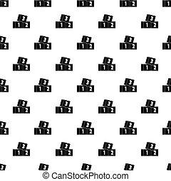 Bricks pattern vector