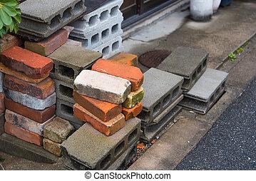Bricks stack