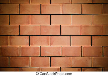 bricks wall background .
