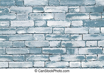 Brickwall background - Colour grungy background