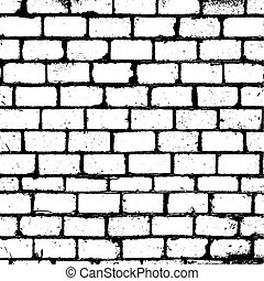Brickwall Overlay Texture for yor design. EPS10 vector.