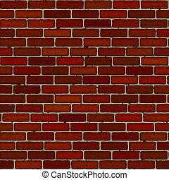 Brickwall - Seamless brick wall background