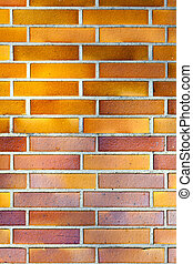 brickwall with harmonic pattern