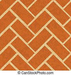 brickwork floor, wall seamless background
