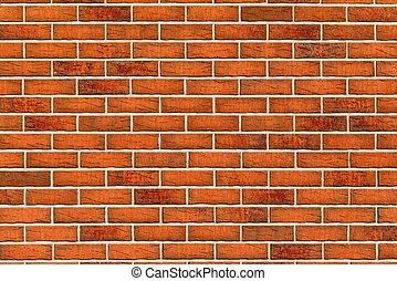 Brickwork pattern texture as urban construction industry...