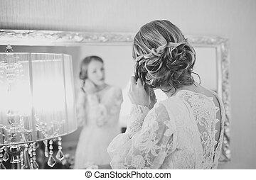 bridal, morning.