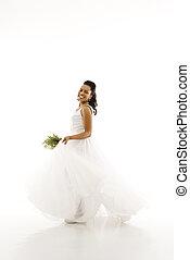 Bridal portrait.