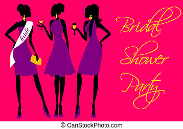 Bridal Shower Invitation - Invitation for a bridal shower...