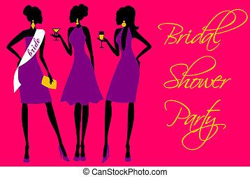 Bridal Shower Invitation - Invitation for a bridal shower ...