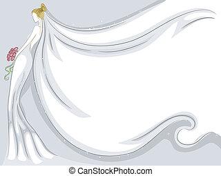 bridal sluier, achtergrond
