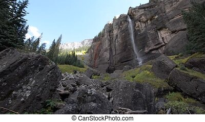 Bridal Veil Falls Telluride Colorado USA