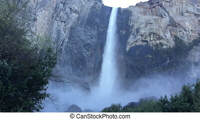 Bridalveil Falls Yosemite National Park