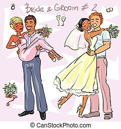 Bride and Groom set 2