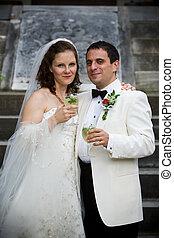 Bride and Groom - Wedding