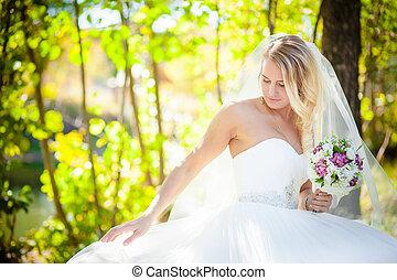 Bride dress corrects