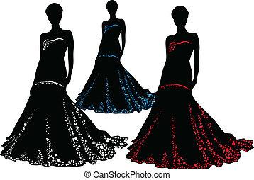 Bride - Fashion silhouettes
