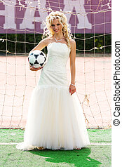bride goalkeeper