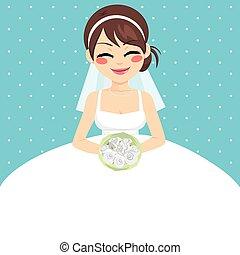Bride Invitation Template