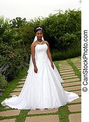 Bride Outside 2