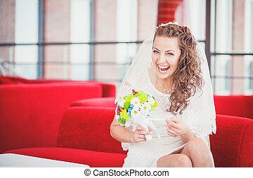 bride sofa