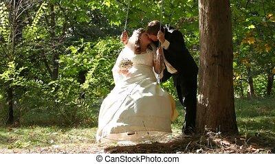Bride Swinging