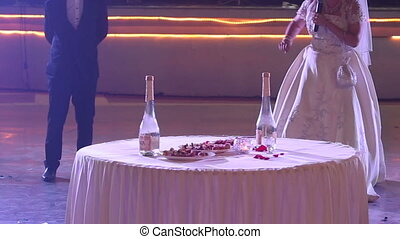 bride tells people rules of russian national game with alcohol