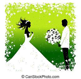 Bride. Wedding illustration for your design
