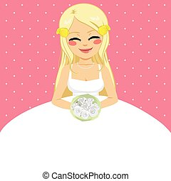 Bride Wedding Invitation Template