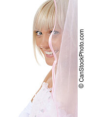 Bride with veil