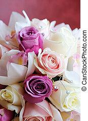 Brides bouquet close-up