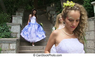 Brides down to earth