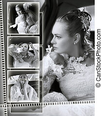 Brides wedding album montage - A montage of a beautiful...