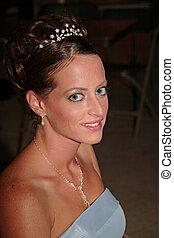 Bridesmaid  - Young woman as bridesmaid.
