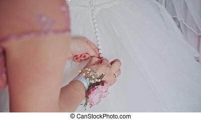bridesmaids zipper wedding bridesmaid dress
