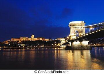 Bridge across the Danube in Budapest