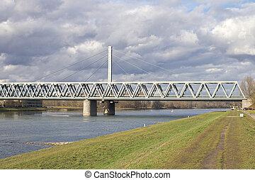 Bridge across the River Rhine 1