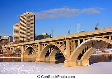Bridge and City Landscape