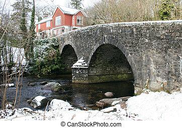 Bridge at Badgers Holt Dartmoor