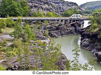 Bridge at central Greece (near Kalambaka village)