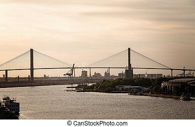 Bridge at Industrial Area