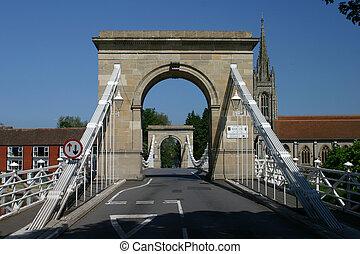 bridge at Marlow