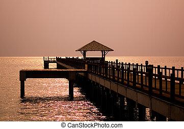 Bridge at the Dawn